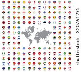 world flags all vector color... | Shutterstock .eps vector #320761295