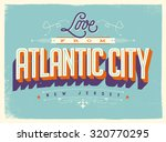 vintage style touristic... | Shutterstock .eps vector #320770295