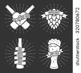 set of t shirt beer prints.... | Shutterstock .eps vector #320780672