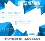brochure or presentation... | Shutterstock .eps vector #320888306
