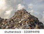 heap of scrap iron | Shutterstock . vector #320894498