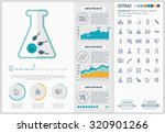maternity infographic template... | Shutterstock .eps vector #320901266