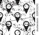 map marker pattern  grunge ...