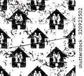 couple house pattern  grunge ...
