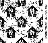 couple house pattern  grunge ...