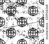 globe pattern  grunge  black...