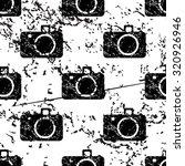 camera pattern grunge  black...