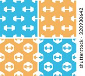 barbell pattern set  simple and ...