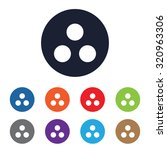 seo community icon for web and... | Shutterstock .eps vector #320963306