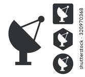 satellite dish set