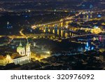Night Panorama Of Prague  Czech ...