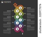 timeline infographics template. ... | Shutterstock .eps vector #320977076