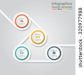infographic report template... | Shutterstock .eps vector #320977988