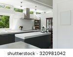 interior house  view of a... | Shutterstock . vector #320981042