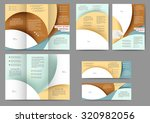 set of colored abstract... | Shutterstock .eps vector #320982056