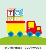 children toys design  vector... | Shutterstock .eps vector #320999096