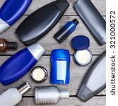 mens cosmetics. various... | Shutterstock . vector #321000572