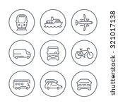 transport  car  van  minivan ... | Shutterstock .eps vector #321017138