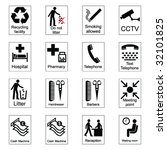 public information signs... | Shutterstock .eps vector #32101825