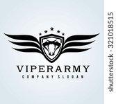Viper Snake Logo Template