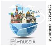 russia landmark global travel...   Shutterstock .eps vector #321024872