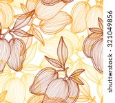 elegant seamless pattern with... | Shutterstock .eps vector #321049856