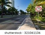 seventy kilometers per hour... | Shutterstock . vector #321061136