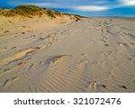 soft morning sunlight on sand... | Shutterstock . vector #321072476