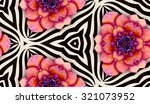 abstract hand painted... | Shutterstock . vector #321073952