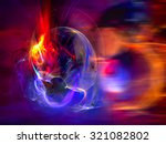 modern abstract background... | Shutterstock . vector #321082802