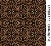 golden seamless  pattern with... | Shutterstock . vector #321106295