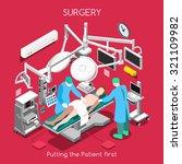 disease surgery department.... | Shutterstock .eps vector #321109982