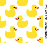 cute seamless pattern with... | Shutterstock .eps vector #321125762
