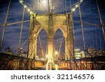 Beautiful Brooklyn Bridge In...