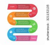 vector  infographic. template... | Shutterstock .eps vector #321152135