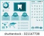 stomatology infographic... | Shutterstock .eps vector #321167738