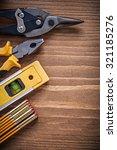 pliers steel cutter... | Shutterstock . vector #321185276