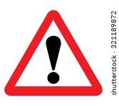 united kingdom general warning...   Shutterstock .eps vector #321189872