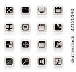 phone  performance  internet... | Shutterstock .eps vector #32120140