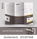 beauty care   salon tri fold... | Shutterstock .eps vector #321207668