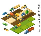 Isometric Agricultural...