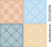 set of four vintage... | Shutterstock .eps vector #321216056