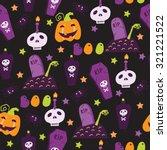 vector seamless pattern in... | Shutterstock .eps vector #321221522