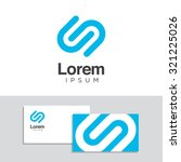 logo design elements with... | Shutterstock .eps vector #321225026