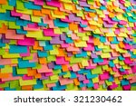Many Of Colorful Stickers