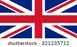 united kingdom flag | Shutterstock .eps vector #321235712