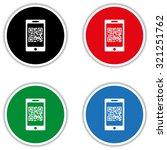 qr code   vector icon | Shutterstock .eps vector #321251762