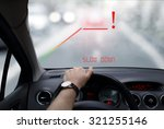 head up system in car | Shutterstock . vector #321255146