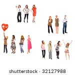 small groups | Shutterstock . vector #32127988