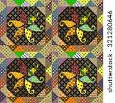 Seamless Pattern Patchwork...